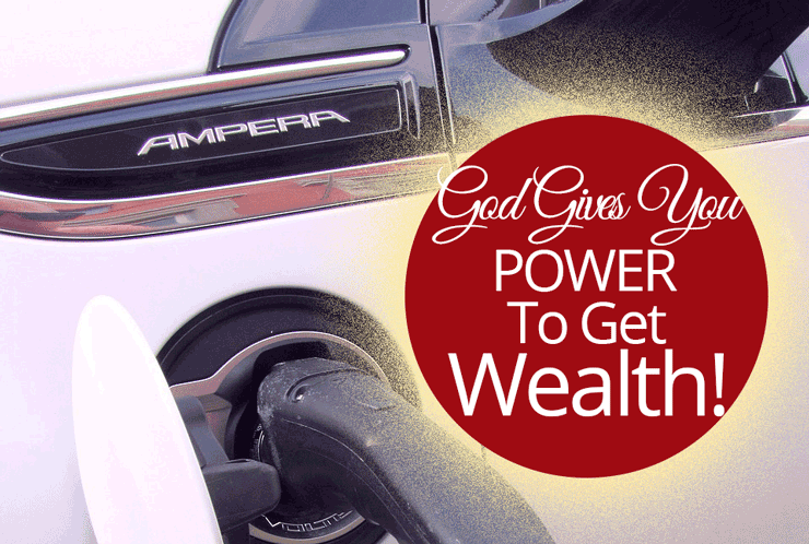 God Gives You Power to Get Wealth | Jamie Rohrbaugh | OverNotUnder.com