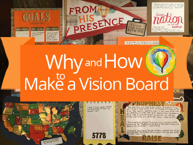 Why and How to Make a Vision Board | by Jamie Rohrbaugh | OverNotUnder.com