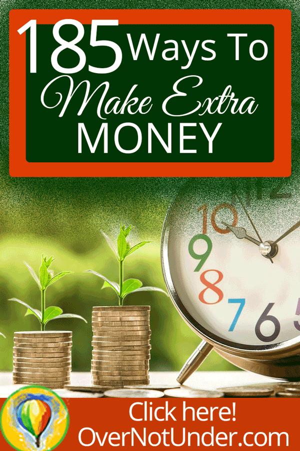 185 Ways to Make Extra Money | by Jamie Rohrbaugh | OverNotUnder.com